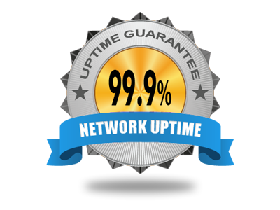 99.9% Network Uptime